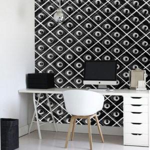 3D blanco y negro