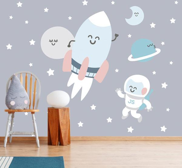 decoración infantil con fotomural