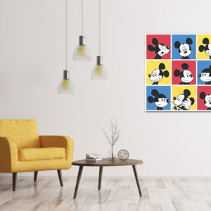 cuadro de mickey mouse decorativo
