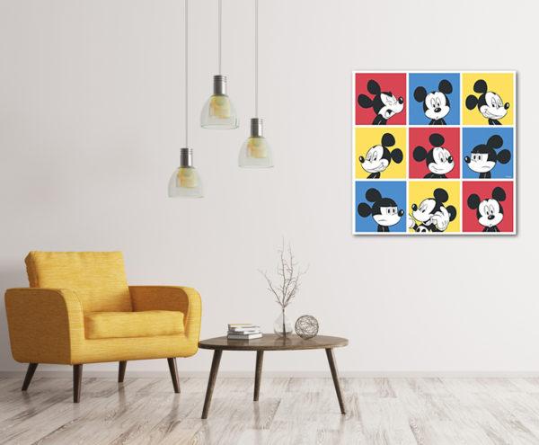 cuadro de mickey mouse decorativo