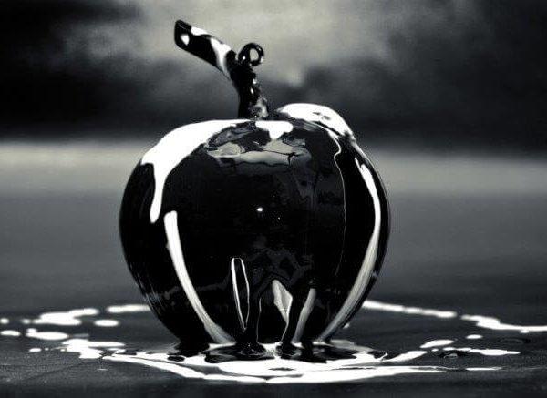 Manzana Blanco y Negro