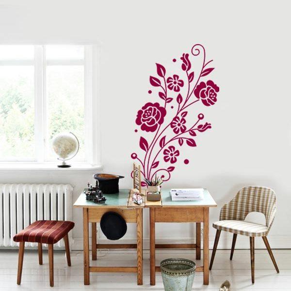 Vinilo Floral