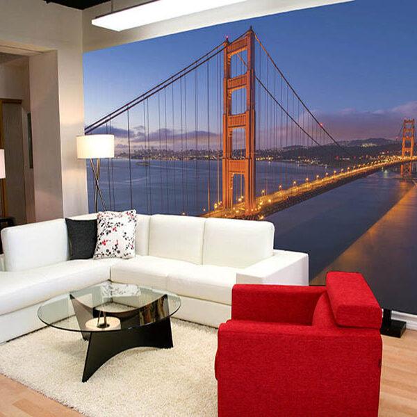 Fotomural lugares para decorar ambientes