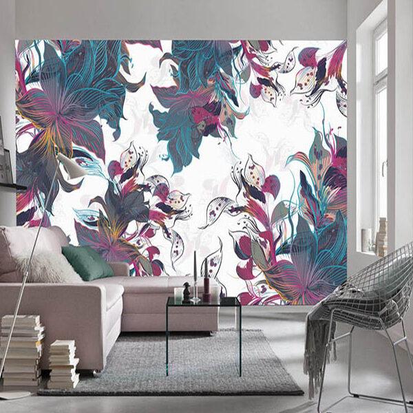 Fotomural abstracto para decorar ambientes