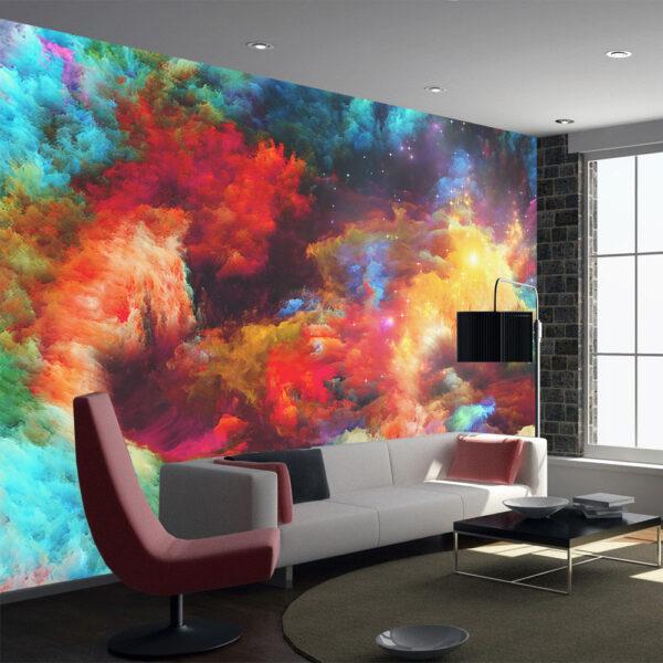 fotomurales abstractos para decorar ambientes