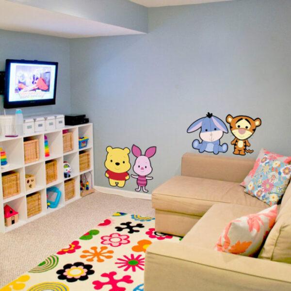 Vinilos decorativos infantiles para decorar ambientes