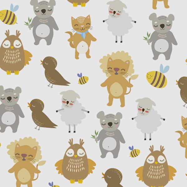 animales tiernos para niños
