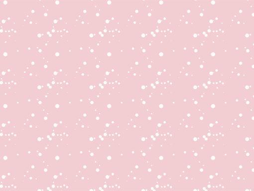 pared rosada con salpicadiras de pintura blanca