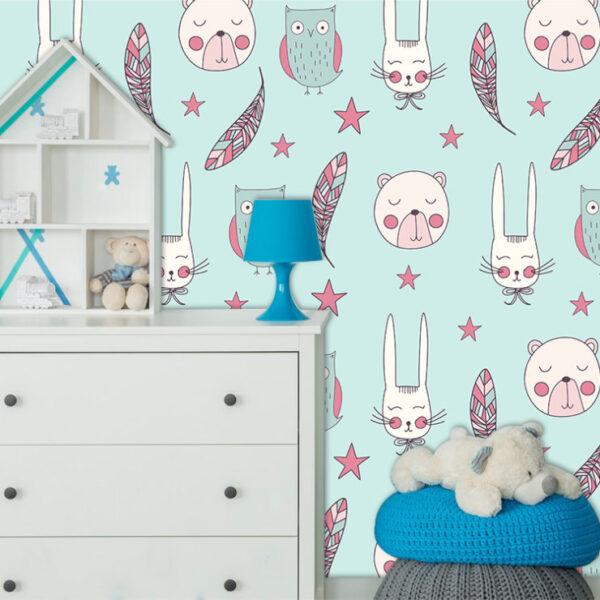 fotomurales infantiles para decorar ambientes