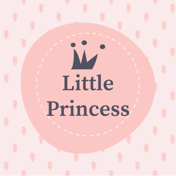 cuadro decorativo little princess