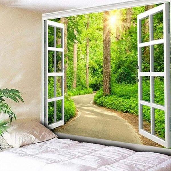 fotomurales ventanas para decorar ambientes
