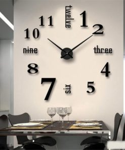 Reloj en acrílico